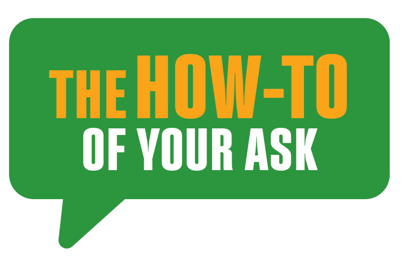 The How-to of Your Fundraising Ask